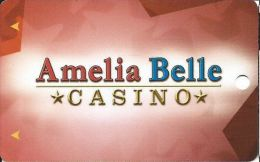Amelia Belle Casino Amelia LA Slot Card  (Blank) - Casino Cards