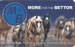 American Greyhound Racing Player Rewards Card - Casino Cards