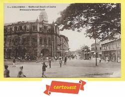 CPA CEYLAN COLOMBO Princes´s Street East National Bank Of India TOP - Sri Lanka (Ceylon)
