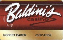 Baldini´s Sports Casino Sparks NV - 9th Issue VIP Slot Card - Casino Cards