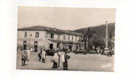 (algérie) TIZI-OUZOU -Entrée De La Ville Et L'hotel Koller 1956 - Tizi Ouzou