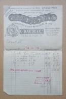 Facture Lettre - Saint Dizier  ( Hte Marne ) - G. Daugé Et Cie - 79 Rue Du Temple St Dizier - 1918 - France