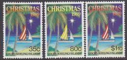 COCOS Is, 1989 XMAS 3 MNH - Cocos (Keeling) Islands