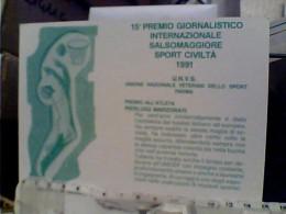 BASKET PALLACANESTRO SPORT CIVILTA 15° PREMIO SALSOMAGGIORE 1991 A P MARZORATI   N1991  FC6318 - Pallacanestro