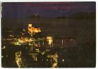LERICI Di Notte - Panorama - By Night, La Nuit, Bei Nacht - écrite Timbre Enlevé - 2 Scans - Italie
