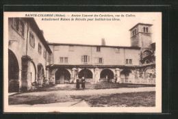 CPA Sainte-Colombe-lés-Vienne, Ancien Couvent Des Cordeliers, Vue Du Cloître - France