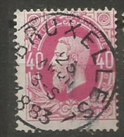 34 Obl  Centrale BXL - 1869-1883 Léopold II