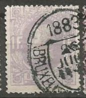 36  Obl  BXL  1883 - 1869-1883 Leopold II.