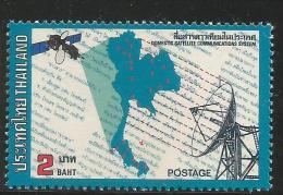 Thailand Mint MNH  Stamp,Set, Telecommunications, 1983 Satellites, Space MNH Set - Telecom