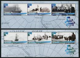 ROSS Dependency 2015 - Bateaux, Expédition Impériale En Antarctic - 2 BF Neufs // Mnh - Ross Dependency (New Zealand)