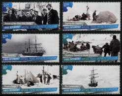 ROSS Dependency 2015 - Bateaux, Expédition Impériale En Antarctic - 6 Val Neufs // Mnh - Ross Dependency (New Zealand)