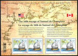 Canada (Scott No.2155 - Champlain) [**] BF / SS - Blocs-feuillets