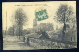 Cpa  Du 29 Chateauneuf Du Faou - église Paroissiale   NOV15 35 - Châteauneuf-du-Faou