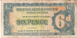 ROYAUME-UNI      6 PENCE      ND (1948)      P. M 17a      (voir 2 Scans) - British Troepen & Speciale Documenten