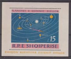 ALBANIE   BLOCK    SPACE YVERT N°6N  **MNH  Réf  C136