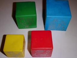 Vecchio Gioco Tedesco Cubi Altes Spiel Old Game - Non Classificati
