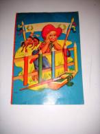 Vecchio Libro Tedesco Da Colorare Altes Buch Old Book - Libri Per Bambini