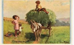 585 - Carte Illustrateur  REDON  (genre G.Bouret)  - éditée Pour Les Colonies De Vacances...- 1939 -   N° 7 - Redon