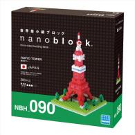 Nanoblock :  Tokyo Tower   ( Kawada ) - Buildings