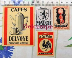 Frasnes  Vignettes Boîtes Allumettes - Frasnes-lez-Anvaing