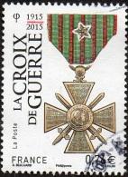 Oblitération Cachet à Date Sur Timbre De France N° 4942 - Croix De Guerre - Usati