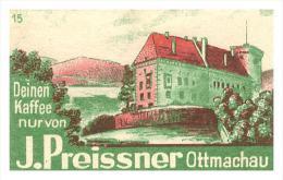 Altes Etikett Von Streichholzschachtel ,um 1940 , J. Preissner , Ottmachau !!! 56x35mm , Streichhölzer , Matchbox Label - Zündholzschachteln