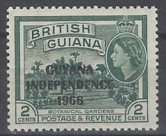Guyana 225 ** Foto Estandar. 1966 MNH - British Guiana (...-1966)