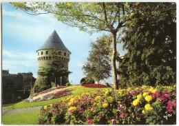 BREST - La Tour De La Motte-Tanguy, Actuellement En Musée - écrite (jeu-concours) Et Timbrée - 2 Scans - Brest