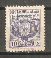 Viñeta Diputacion De Alava 10cts - España