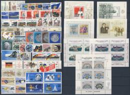 DDR Michel No. 2993 - 3062 ** postfrisch Jahrgang 1986 komplett