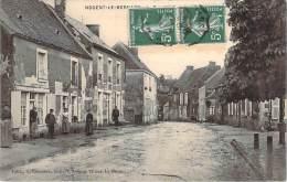 72 - Nogent-le-Bernard - Route De Bellou, Rue De La Mairie, Café Du Midi - France