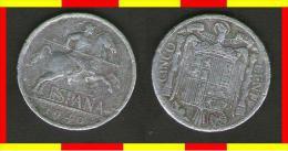 SPAGNA - España 1940 - 5 Centavos  - 5 Centesimi - [ 4] 1939-1947 : Governo Nazionale