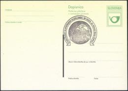 Slovenija Lace Embroidery Pmk On Postal Stationery Postcard B151202 - Textile