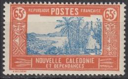 Nouvelle Calédonie Année 1928 / 38 Y&T N° 151 Neufs ** MNH Paysage, Fleuve, Hutte, Guerrier Départ à 50 % De La Cote à V - Nouvelle-Calédonie