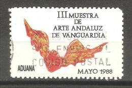 Viñeta  III Muestra De Arte Andaluz De Vanguardia - España
