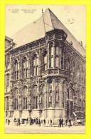 * Gent - Gand (Oost Vlaanderen) * (nr 3) Hotel  De Ville, Stadhuis, Town Hall, Animée, Rare, Char, Old - Gent