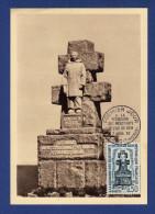 29 ILE DE SEIN Monument De La Résistance - A La Mémoire Des F.F.L. à L´Ile De Sein, Carte 1er Jour - 1960-1969