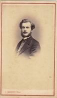 Photo Cdv Maurice Saisery 38èm Promotion Garde Général à Albertville 1866 Par Chamusse Chambery - Personnes Identifiées