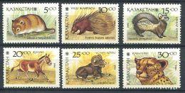 153 KAZAKHSTAN 1993 - Faune Animaux (Yvert 20/25) Neuf ** (MNH) Sans Trace De Charniere - Kazakhstan