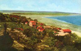 CPSM - La FRANQUI-PLAGE (11) - Vue Aérienne Prise De La Falaise En 1955 - Autres Communes