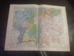 Map Of Southern Germany - Geographical Maps