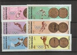 JO -Médailles De Vainqueurs ( 761/766 XXX -MNH- Du Y-émen République) - Olympic Games