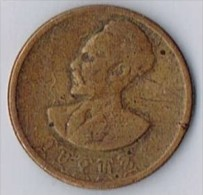 Ethiopia 10 Cents 1944 (year 1936) - Haile Selassie & Lion Of Judah - Monnaies