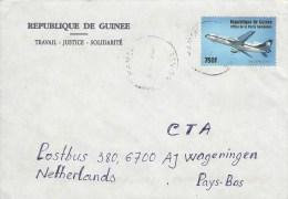 Guinee Guinea 2003 Mamou Airplane Tri Star L-1011 Cover - Guinee (1958-...)