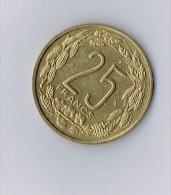 Afrique Equatoriale, Cameroun, 25 Francs 1962 - Monnaies