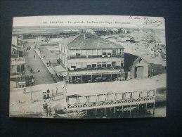 Palavas Vue Généraale La Gare La Plage Rive Gauche  -  éd. Albaille 101 Circulée 1915 L232 Cachet Hopital Temporaire - Palavas Les Flots