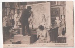 CP DANTAN 41  UN COIN D'ATELIER MUSEE DU LUXEMBOURG LL - Sculture