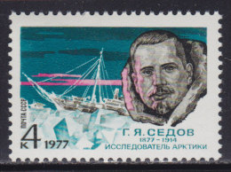3988. Russia, USSR, 1977, Gerogy Yakovlevich Sedov, MNH (**) Michel 4571 - 1923-1991 USSR
