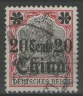 CHINE (bureaux Allemands): N°33 Oblitéré       - Cote 9€ -