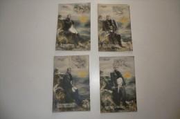 CPA NAPOLEON à SAINT HELENE. Lot De 4 Cartes Postales Anciennes. - Histoire